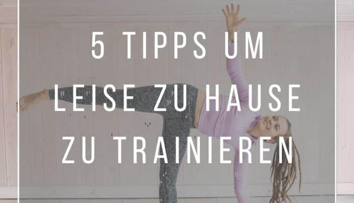 zu Hause trainieren ohne Stress mit den Nachbarn