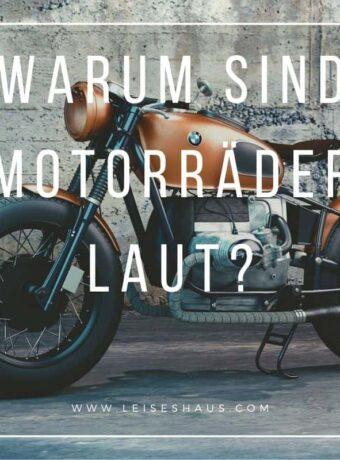 Die Gründe für den Lärm von Motorrädern