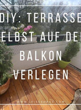 Terrassenboden auf Balkon oder Dachterrasse verlegen